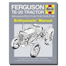 Ferguson Te-20 Tractor Manual - Haynes H5010