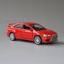 1:36 Welly Diecast Metal Pull Back Car Model Toys Mitsubishi Lancer Evolution X