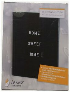 Buchstabentafel Letterboard Memoboard Stecktafel Steckbret 354 Buchstaben Zahlen
