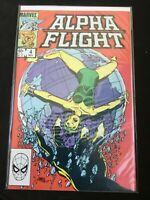 Alpha Flight #4 (Marvel) Free Combine Shipping with all orders