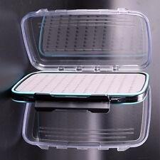 2 Extra Large Clear View Double Sided Waterproof Easy Grip Fly Boxes