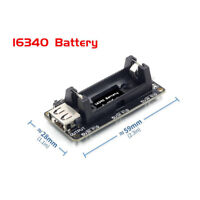 ESP8266 Power Supply Rechargeable 16340 Lithium Battery Charger Shielding Module