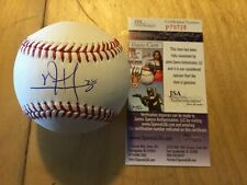 Vincent Velasquez Phillies Autograph Signed OMLB Baseball COA JSA