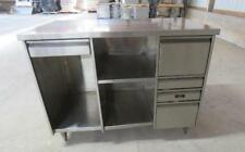 48x25x37 Qualserv Stainless Steel 5 Drawer Cabinet Storage Table Toolbox 16