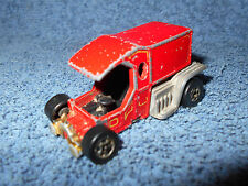 VINTAGE 1978 HOT WHEELS T-TOTALLER RED 1:64 DIECAST TRUCK MADE IN HONG KONG