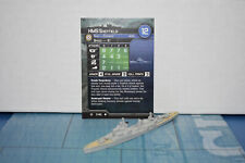 Axis & Allies War at Sea Surface Action HMS Sheffield 7/40