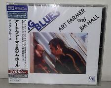 BLU-SPEC CD ART FARMER & JIM HALL - BIG BLUES - JAPAN - KICJ  2320 - NUOVO NEW