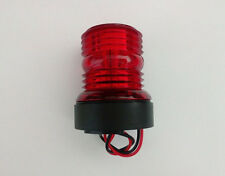 Marine Boat Yacht 12V Red All Round 360 Degree LED Navigation Light