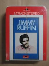Jimmy Ruffin, 8 track tape, rare funk, factory sealed