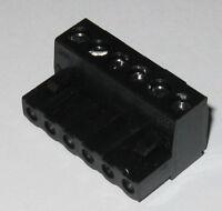 "6 Position Screw Terminal Block - 0.200 Spacing - 1 3/16"" x 3/4"" x 9/16"""