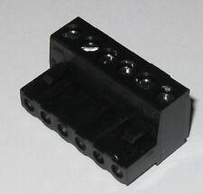 6 Position Screw Terminal Block 0200 Spacing 1 316 X 34 X 916