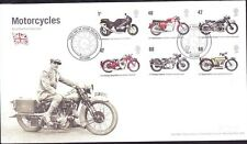 2005 GB Motorcycles First Day Cover Special Solihull Postmark Ref: H727