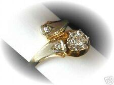 Cross-over-brillante anillo 0,28ct oro valor 1329,- EUR