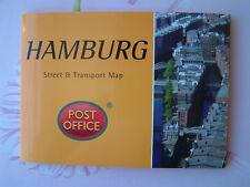 HAMBURG  Street Transport Map Pocket Guide Pop-Up - NEW Germany