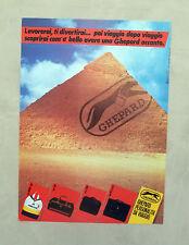 E125 - Advertising Pubblicità -1987- GHEPARD , PERSONALITA' DA VIAGGIO