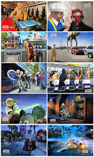 "Disneyland StarWars Weekend Set of Ten  [ Star Tours ] 8.5"" x 11"" Posters"