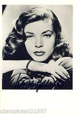 Lauren Bacall ++Autogramm++ ++Hollywood Legende++