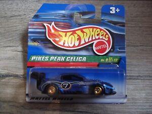 HOT WHEELS - Treasure Hunt - Pikes Peak Celica - MIB - 1998 - Mattel