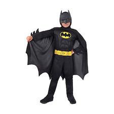 Ciao Costume Batman Con Muscoli Pettorali Imbottiti Originale DC Comics Bambino