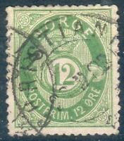 Norwegen Mi.-Nr.38 o (MICHEL EURO 320,00) selten, feinst