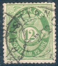 Norwegen Mi.-Nr.26 o (MICHEL EURO 100,00) selten, feinst
