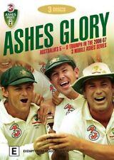- ASHES GLORY - AUSTRALIA.S 5-0 TRIUMPH (3 DVD'S) REGION 4 [BRAND NEW] $23.75