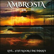 AMBROSIA - LIVE...5TH FLOOR CINCINNATI   CD NEW+