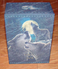 Wolf Song (Felt Lined) Tarot Box (Nemesis Now Collection, 11015)