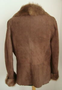 LADIES' MERINO/TOSCANA SHEEPSKIN SHEARLING JACKET SIZE M - #2566
