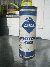 Alte Öldose Aral Motoröl Tankstelle Garage Deko