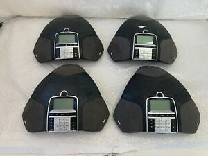 LOT 4 USED Avaya B179 SIP Conference Phone For parts or disassembly