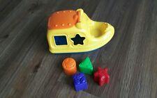 Motorboot mit Formen Kinderspielzeug Lernspielzeug Babyspielzeug