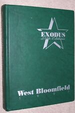 1997 West Bloomfield High School Yearbook Annual W Bloomfield Michigan MI Exodus