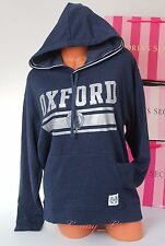 NWT PINK VS Collegiate Collection Oxford Limited 2016 Hoodie Sweet Jacket M Blue