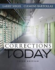 Brand New: CORRECTIONS TODAY Third Edition Textbook. NO ONLINE CODE