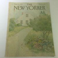 COVER ONLY - The New Yorker Magazine September 16 1985 - Charles E. Martin