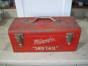 Milwaukee Vintage Sawzall 6510 Heavy Duty w/Metal Case