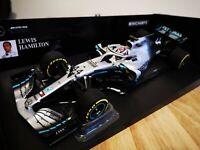 Minichamps 1/18 L. Hamilton Mercedes-AMG F1 W10 EQ #44 Formel 1 Weltmeister 2019