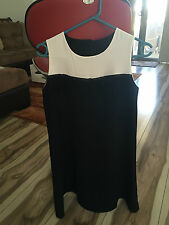 Prodotta Da Dress size 12 - Made Italy - Black and White