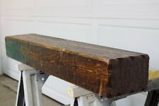 """60"""" Custom Hand Hewn  Rustic Fireplace Mantel Unfinished"""