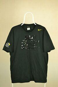 Nike Vintage Tour De France Tee T Shirt Black XXL 2006 Cycling