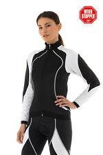 Womens Cycling Jacket - Santini Venus Windstopper - High Quality Size M