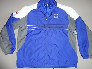 Reebok Baltimore Colts Sports Illustrated SI Embroided NFL Jacket Adult XL NICE