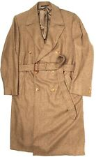 Ermenegildo Zegna Mens Cashmere Trench Coat 48R Soft Brown Belted Overcoat 58