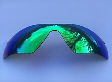GREEN MIRRORED REPLACEMENT OAKLEY RADAR PATH LENS & POUCH