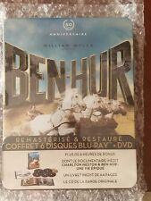 Ben Hur 50th Anniversary [Blu-ray (3) + DVD (2) + CD] Jumbo Metal Case