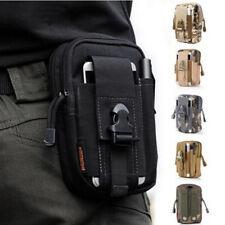 Mens Mini Tactical Waist Bag Belt Fanny Pack Waist Pouch Backpack Accessory KI