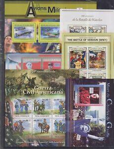 C903. 6 Difirent items - MNH - Military & War