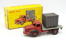 Dinky Toys F SB 1/43 - Berliet Plateau Container 34B