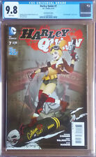 HARLEY QUINN #7 Cover C (2014 series) - Lucia Bombshell Variant Cover - CGC 9.8
